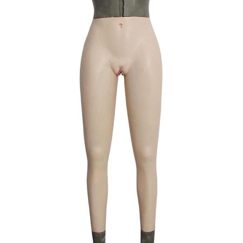 男の娘 股間カバー パンツ 変装用 下着 女装用 パンツ(九分丈)
