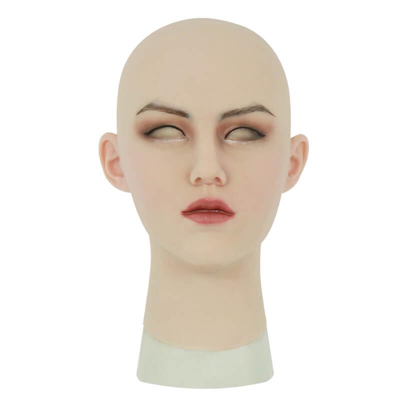 ROANYER 男の娘 女装 仮面 変装 マスク 美人 恵子ちゃん