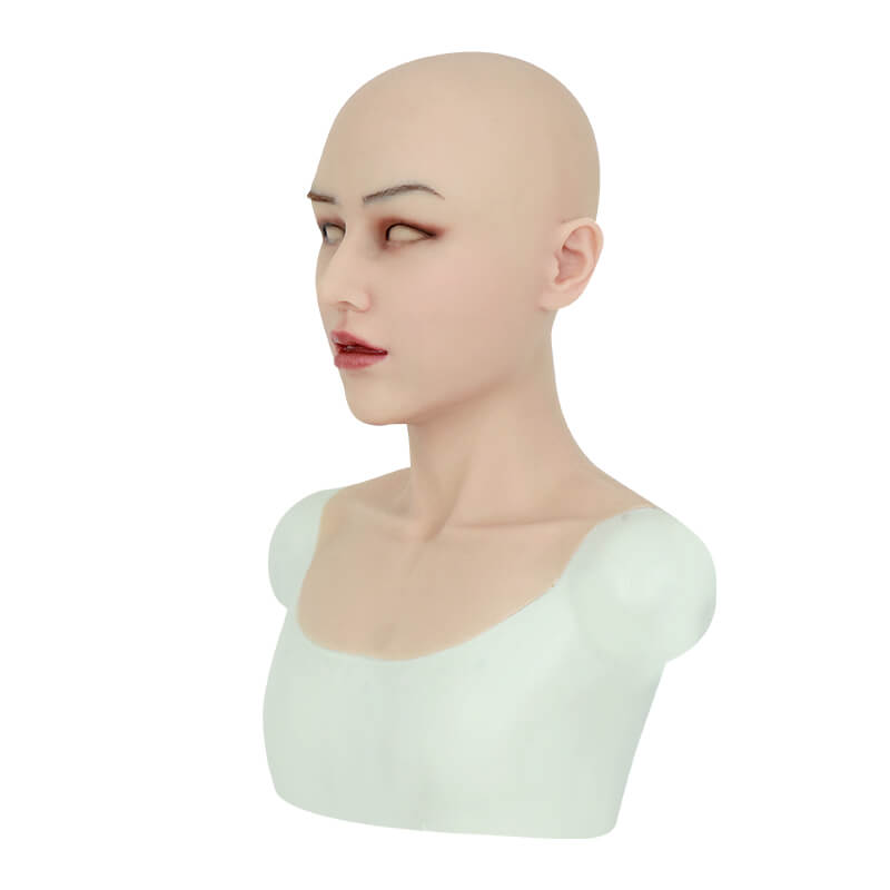 ROANYER 男の娘 女装 仮面 変装 マスク 美人恵子